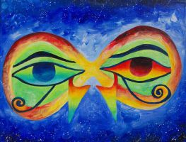 Horus Eye by Xpand-The-Mind
