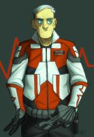 TFP Human!Ratchet by mr-book-faced