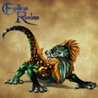 Endless Realms bestiary - Malivor by jocarra