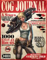 Anya Stroud on cover of COG by warballoon
