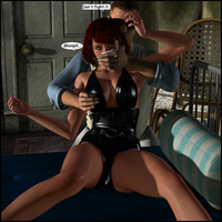 Black Widow At His Mercy 03 by LordSnot