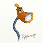 Lampy (The Brave Little Toaster) by Sapphirre98