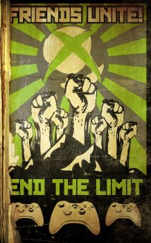 End the Limit Propaganda 1 by thereverend3k