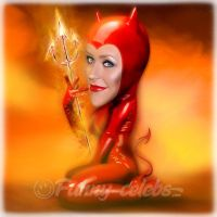 CHRISTINA AGUILERA - Devilishly good voice! by funny-celebs