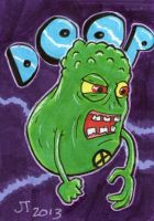 Doop the Sketch Card by johnnyism