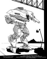 Battletech: Bruin by Mecha-Zone