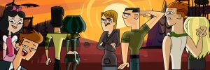 Total Drama : Shipping Sunset by Y0shi007