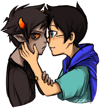 Homestuck: BUT YOU'RE NOT GAY. by xBlimpcat