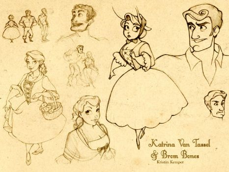 Sleepy Hollow characters 2 by Kecky
