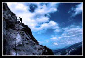 Coldness Of The Climb by Hubzay