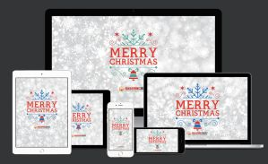 Free Happy Christmas 2015 Wallpapers for All Devic by kashifmughal