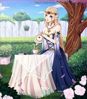 Collab: Time For Tea by Lady-Zelda-of-Hyrule