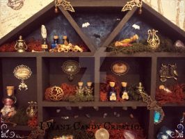HANDMADE - Lair Of The Witch Details 2 by IWantCandyCreation