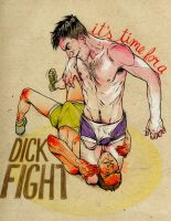 DICK FIGHT by roxination