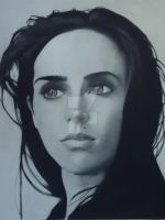 Charcoal Portrait by JustinRevell