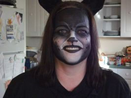 Mom's Black Panther Makeup by isisraven