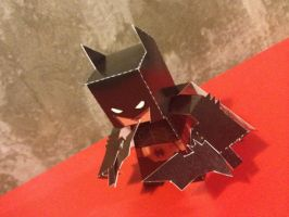 Dark Knight Paper Toy by papertoyadventures