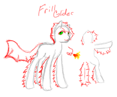 Frill Glider Reference! by InuLover097