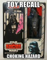 Darth Vader Toy Recall by hk-1440