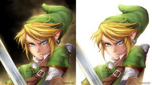 LoZ-Link by Poichanchan