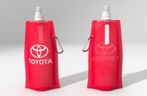 Foldable Water Bottle 01 by johnnydwicked