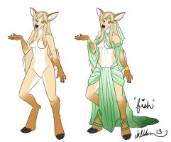 Our Deer Princess by cat-named-fish