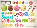 sweet icons by Melaamory