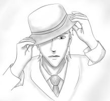 Bowler Hat Man by that1gothchick