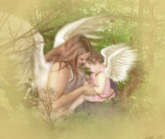Wood Faeries by BesidesThat