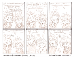 Quick AkuRoku Comic by MouseFace