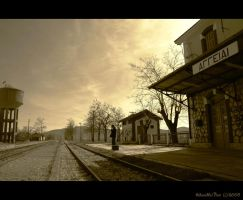-The Train by Adanedhel-Noir
