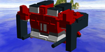 Lego Cube Whale Part 2 (Cube Mode) by SuperSentaiHedgehog
