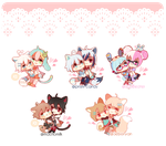 Base cheebs: Bridal Style by Polka-Pot