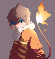 Monferno!Tae by Uxia15