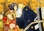 Autumn IchiRuki by jessally