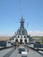 USS Alabama-Frontal by Rhythm-Wily