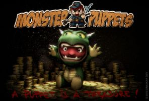 Monster of Puppets: Treasure Guardian by doms3d