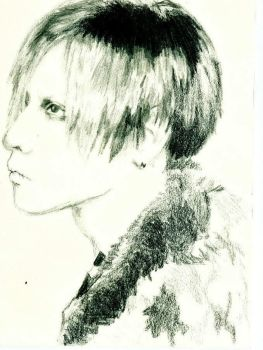 toshiya from dir en grey by StayFreeMyMisery