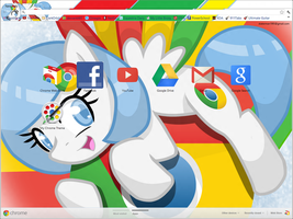 Chrome Pony Theme for Google Chrome by xGodOfModzx