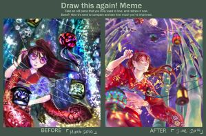 Draw this again meme by kumage-mon