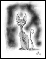 Mr The Cat by sekhmet-neseret