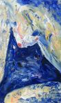 blue woman by sinad