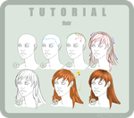Tutorial Photoshop n6 HAIR by ElyBibi