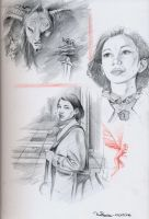 Pan Labyrinth - Sketch 01 by RodGallery