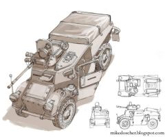 Scout Car Concept by MikeDoscher