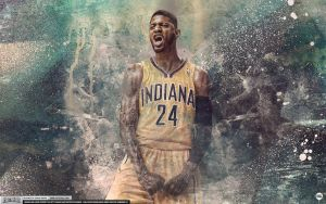 Paul George Wallpaper by Angelmaker666