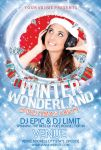 Winter Wonderland Flyer Template by tinachang89