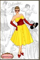 APH: 1950'S style Fem Spain by mandababe12