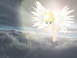 Her Heavenly Wings by MNS-Prime-21