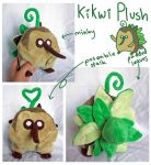 Kikwi plush for Lyndsaygorawr! by scilk